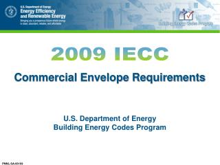 Commercial Envelope Requirements