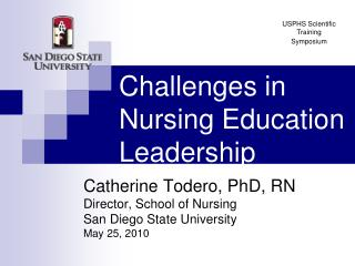 Challenges in Nursing Education Leadership