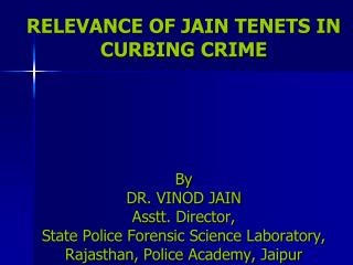 FORENSIC SCIENCE AND CRIME
