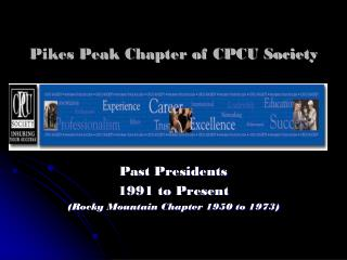 Pikes Peak Chapter of CPCU Society