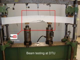 Beam testing at DTU