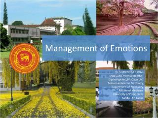 Management of Emotions
