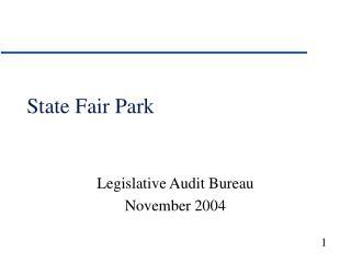 State Fair Park