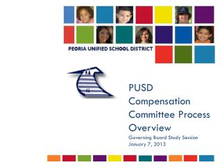 PUSD Compensation Committee Process  O verview Governing Board Study Session January 7, 2013