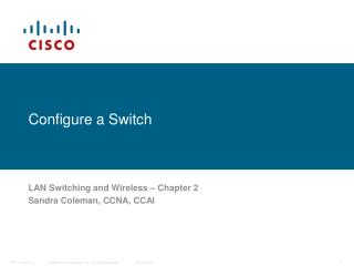 Configure a Switch