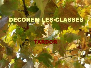 DECOREM LES CLASSES