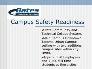 Campus Safety Readiness