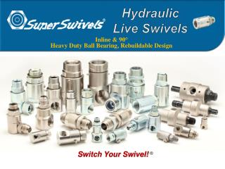 Hydraulic  Live Swivels