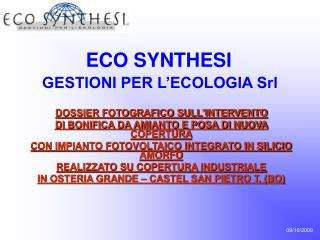 ECO SYNTHESI