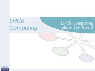 LHCb computing plans for Run 3
