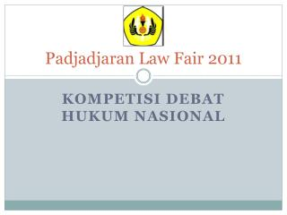 Padjadjaran Law Fair 2011