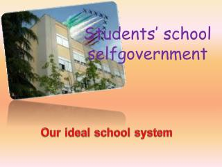 Students'  school  selfgovernment