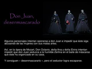 Don Juan, desenmascarado