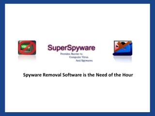 Super Spyware - Spyware Removal Software & Free Malware Removal Program