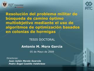 Antonio M. Mora García 05 de Mayo de 2009
