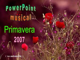 PowerPoint musical