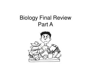 Biology Final Review Part A