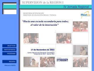 IV Jornada Regional