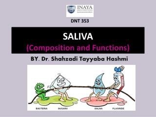 SALIVA (Composition and Functions)