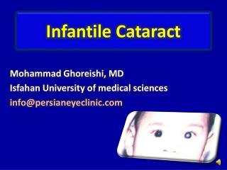 Infantile Cataract