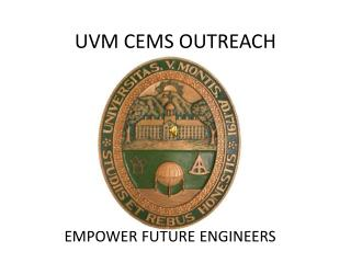 UVM CEMS OUTREACH