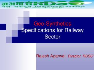 Geo-Synthetics Specifications for Railway Sector