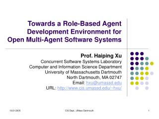 Towards a Role-Based Agent Development Environment for  Open Multi-Agent Software Systems