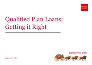 Qualified Plan Loans: Getting it Right
