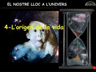 EL NOSTRE LLOC A L'UNIVERS