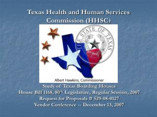 Texas Health and Human Services Commission (HHSC )