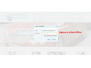 Ingresa a tu Back Office