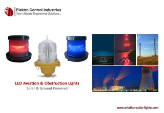 LED Aviation & Obstruction Lights  Solar & Ground Powered