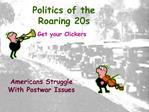 Politics of the Roaring 20s