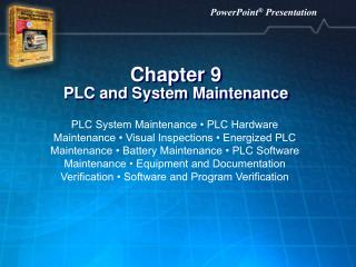 Chapter 9 PLC and System Maintenance