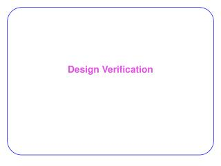 Design Verification