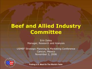 Beef and Allied Industry Committee