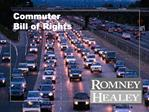 Commuter Bill of Rights