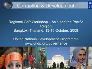 Corruption & Development