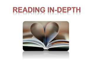 Reading in-depth