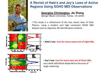 A Revisit of Hale's and Joy's Laws of Active Regions  Using  SOHO MDI  Observations