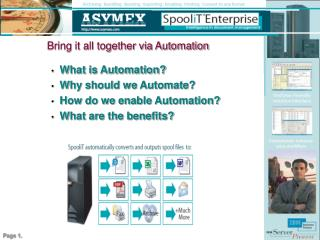 Bring it all together via Automation