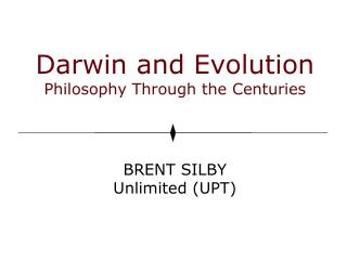 Darwin and Evolution Philosophy Through the Centuries
