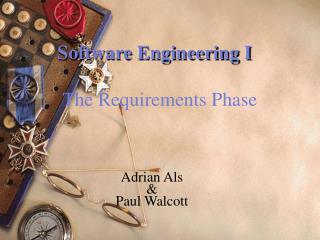 Software Engineering I