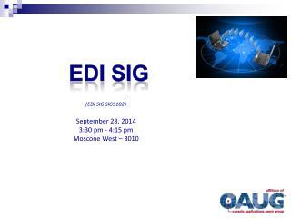 EDI SIG