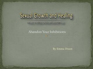 Get Services and Treatment for Sexual Growth & healing.