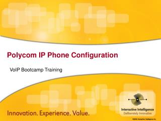 VoIP Bootcamp Training