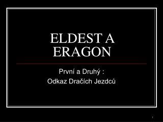 ELDEST A ERAGON