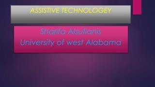 AssistiveTechnology