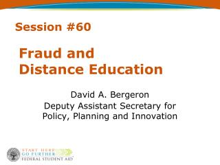 Fraud and  Distance Education