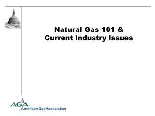 Natural Gas 101 & Current Industry Issues